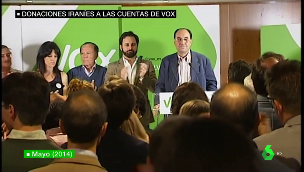 """Vidal Quadras desmiente a Abascal: la comunidad iraní en el exilio """"envió apoyo"""" a Vox en las europeas de 2014"""