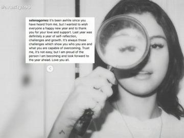 """Selena Gómez reaparece en las redes sociales con un emotivo mensaje: """"Estoy muy orgullosa de la persona en la que me estoy convirtiendo"""""""