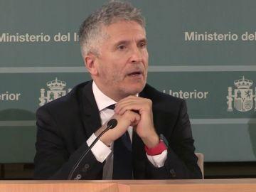 El ministro del Interior, Grande-Marlaska