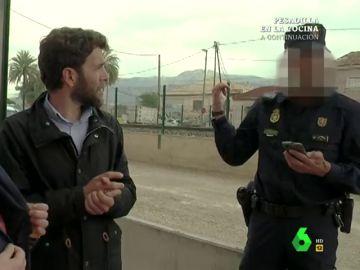 Así vivió Gonzo la interrupción de la Policía cuando grababa un reportaje sobre el soterramiento del AVE en Murcia