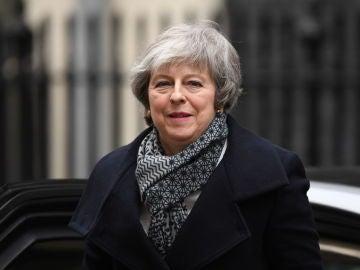 La primera ministra británica, Theresa May