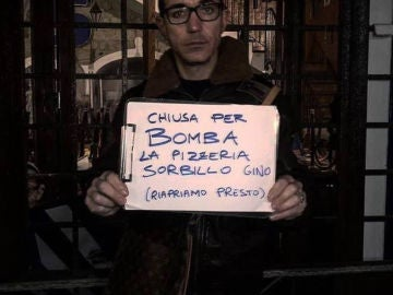 Gino Sorbillo, el dueño de la pizzería denuncia los hechos