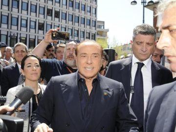 Silvio Berlusconi en un acto