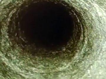 Imagen del pozo de Totalán al que cayó Julen