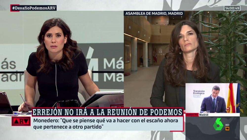 """Clara Serra, número dos de Errejón: """"Conviene bajar el tono, no viene bien la política de 'conmigo o contra mí'"""""""