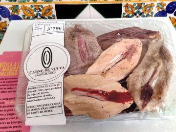 """Obra """"Carne de vulva"""""""