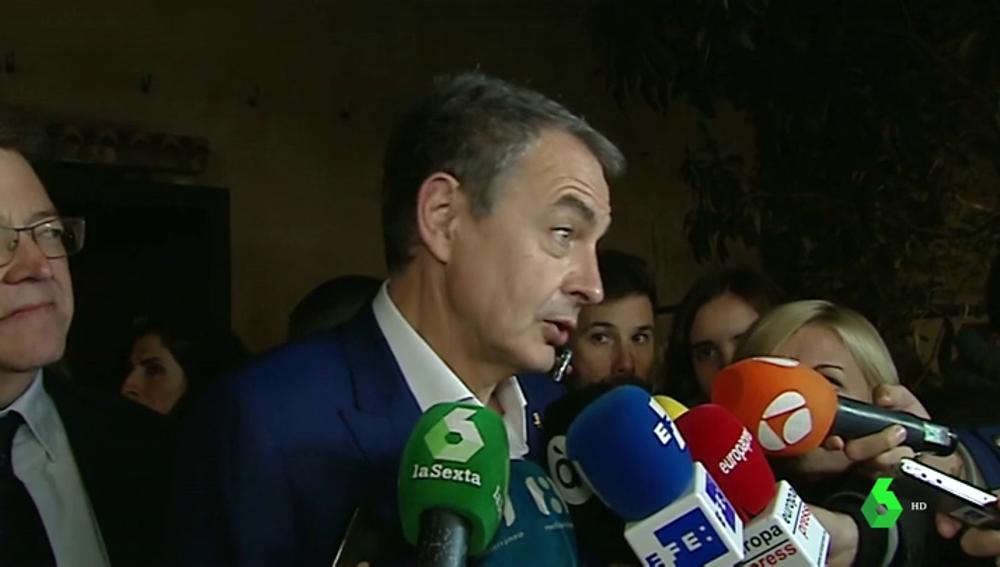 """Zapatero, apoyo de Susana Díaz en el PSOE: """"La paradoja es que a quien gana le pidan responsabilidades"""""""