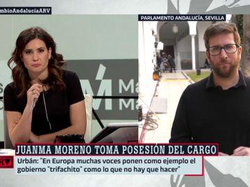 """Miguel Urbán (Podemos), sobre el conflicto entre Iglesias y Errejón: """"Estamos viendo un espectáculo que nos podíamos haber ahorrado"""""""