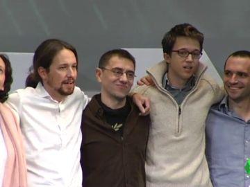 El desamor de Iglesias y Errejón: solo queda uno de los cinco fundadores de Podemos