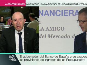 Gonzalo Bernardos, profesor de Economía