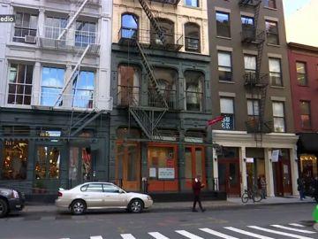 Bloques de pisos en Nueva York