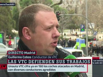 Guillermo Cobos, conductor VTC