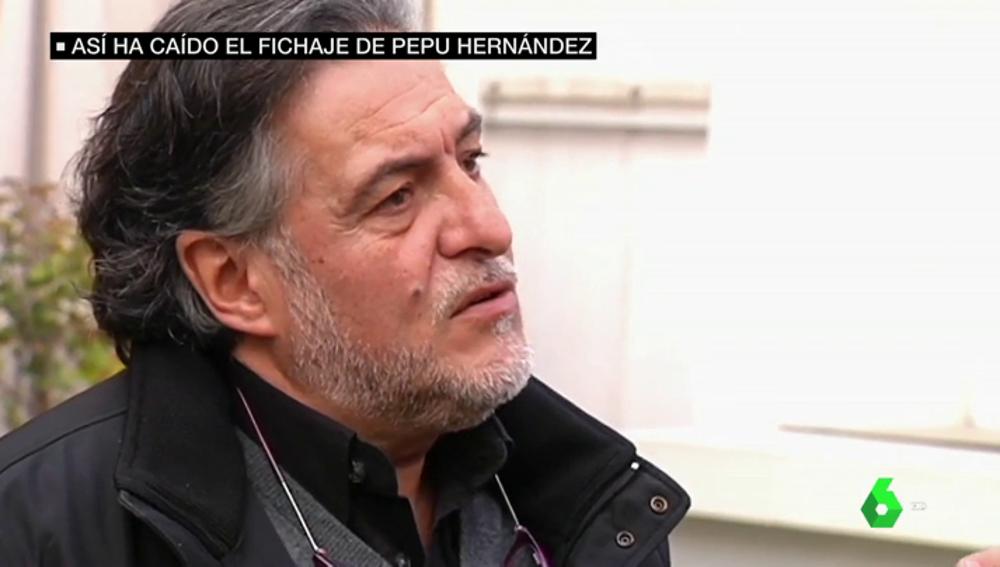 """El PP acusa a Pepu Hernández de """"dar un paso atrás"""" y """"entrenar al filial de Podemos"""""""