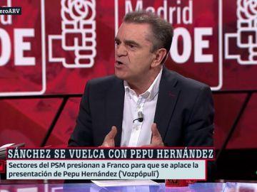 José Manuel Franco, secretario general del PSOE Madrid