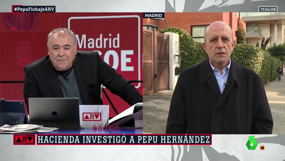 """El análisis de Zarzalejos sobre la candidatura de Pepu Hernández: """"Es un fiasco para la militancia del PSOE. No se cuenta con la gente del partido"""""""