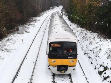 Imagen de las nevadas de Reino Unido
