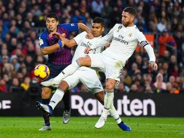 Momento del Barcelona - Real Madrid
