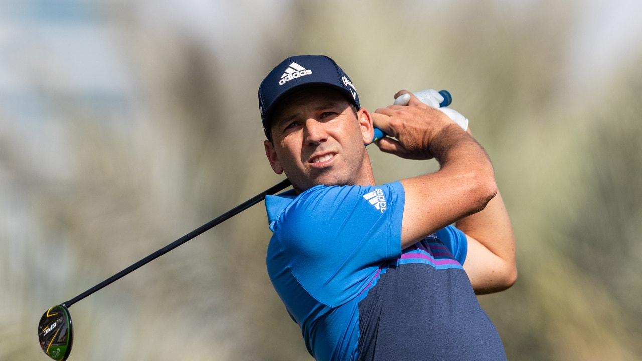 Sergio García, en el Omega Dubai Desert Classic