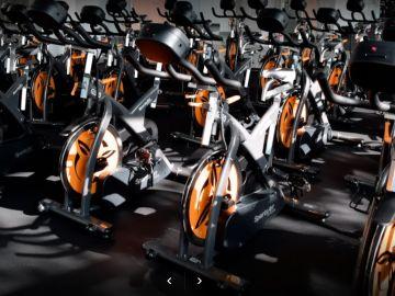 Bicicletas del gimnasio, Move Watts, en Alcobendas