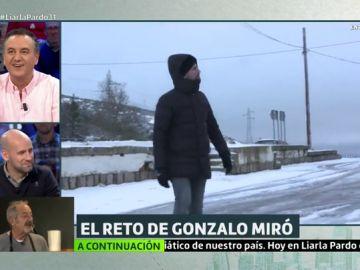Gonzalo Miró en Somosierra