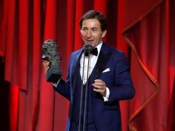El actor Antonio de la Torre recibe el Goya al Mejor Actor Protagonista