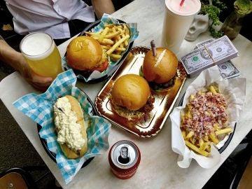 Menu temático Pablo´s Escoburgers, Australia