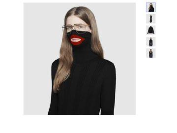 Suéter retirado de Gucci