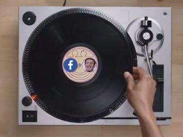 Captura del vídeo dedicado a Zuckerberg y Facebook