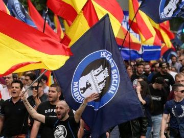 Imagen de archivo de una manifestación de Hogar Social