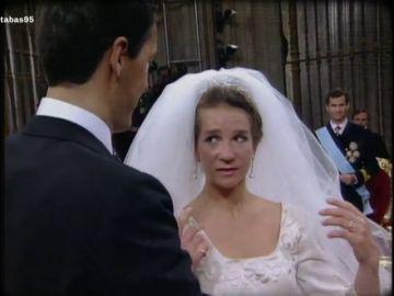 El lapsus de la infanta al decir 'sí quiero' y otras anécdotas de su boda real con Jaime de Marichalar en 1995
