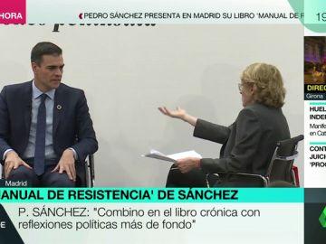 """Mercedes Milá, a Pedro Sánchez: """"El libro se compromete mucho más que ahora el presidente del Gobierno"""""""
