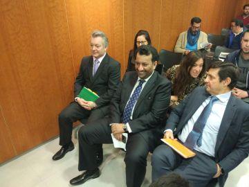 Al Thani, en el juicio por el caso Blue Bay en la Ciudad de la Justicia de Málaga