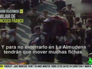 Carretera y Manta habla con un familiar de Franco