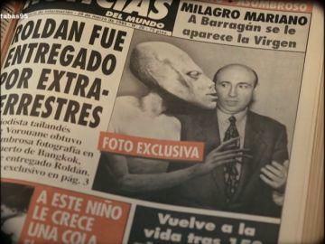'Noticias del Mundo', el periódico satírico que revolucionó España en 1995 con su doble lectura