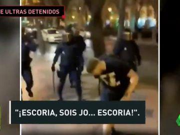 Detenidos en Valencia seis aficionados del Celtic tras agredir a varios agentes
