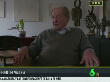 Nicolás Sánchez Albornoz logró huir del Valle de los Caídos