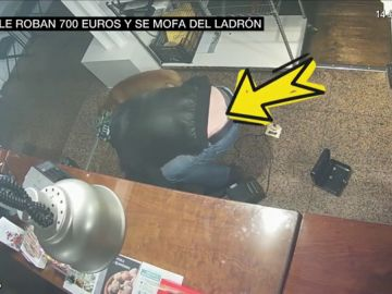 El vídeo del robo surrealista a una pastelería en Barcelona