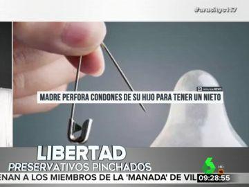 Una madre le pincha el condón a su hijo para convertirse en abuela