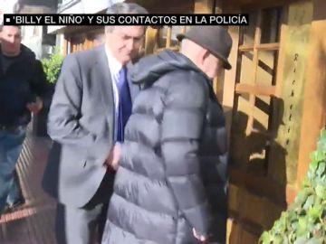 El torturador Billy el Niño junto al comisario de Chamberí