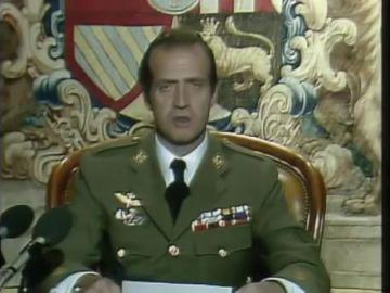 Reproducimos el mensaje íntegro que envió el rey Juan Carlos I a toda España tras fracasar el Golpe de Estado de Tejero
