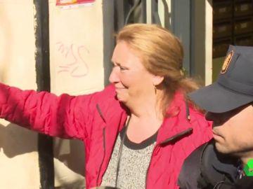 Pepi, tras ser desahuciada de su casa en Lavapiés