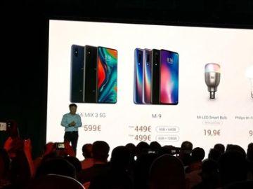 Xiaomi anuncia en el MWC la llegada en Europa de su primer móvil con 5G por 599 euros