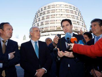 El secretario general del PP, Teodoro García Egea en La Rioja.