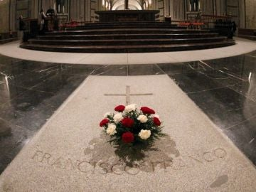La tumba de Francisco Franco