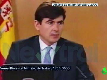 Manuel Pimentel, exministro de Trabajo
