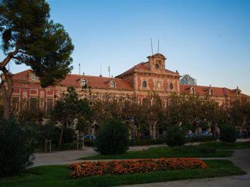 Vista del Parlament de Catalunya