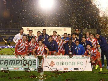 El Girona, campeón de la Supercopa de Cataluña 2019