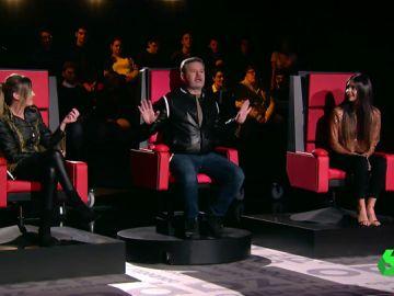 Cristina Pedroche y Anna Simon se enfrentan en 'Chisteando' por los chistes malos de Manu Arévalo