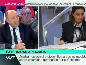"""Gonzalo Bernardos: """"Las bajas de paternidad no ayudan a la igualdad real, ayudan las cuotas"""""""