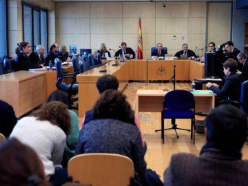 Testigos declaran ante la Audiencia Nacional en el juicio por la agresión en Alsasua